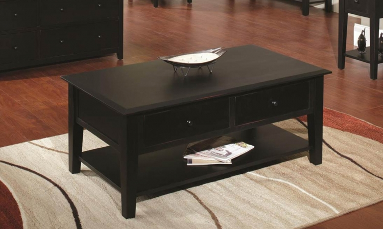 Ayer Coffee Table - Black