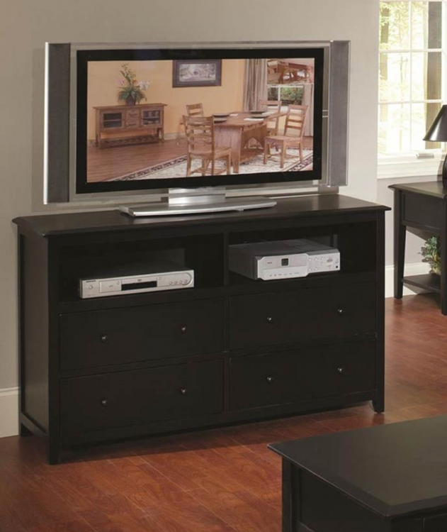 Becket Entertainment Center - Black