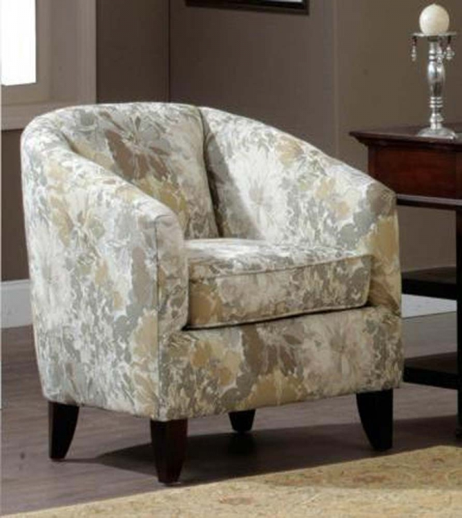 Ella Barrel Chair - Lindamer Mocha - Chelsea