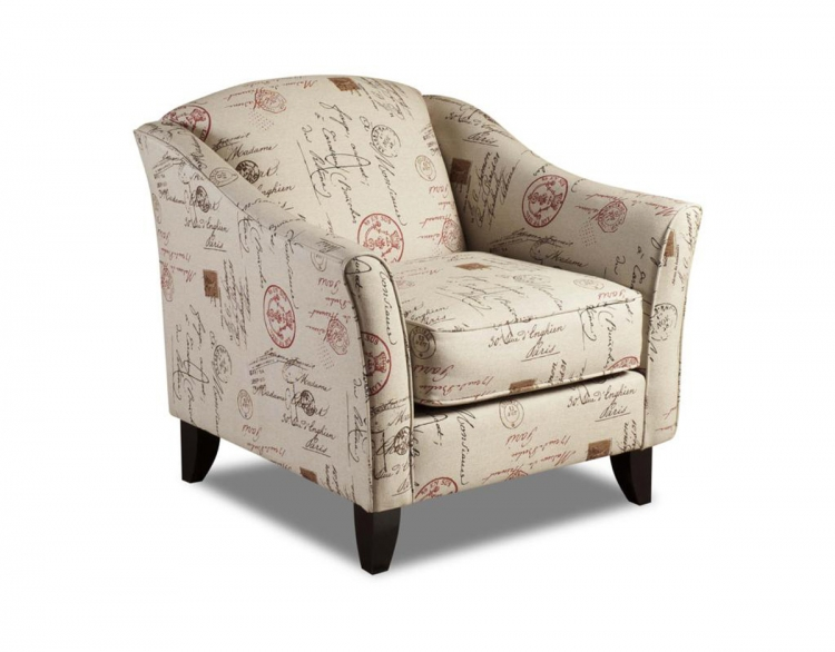 Gloucester Accent Chair - Postale Ruby