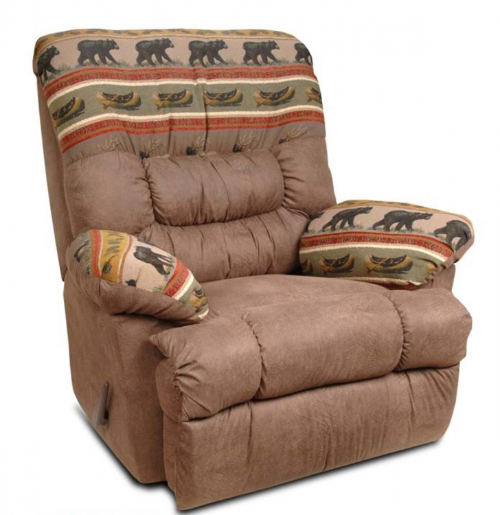Recliner Bear - Frisco/Northwoods Brown - Chelsea