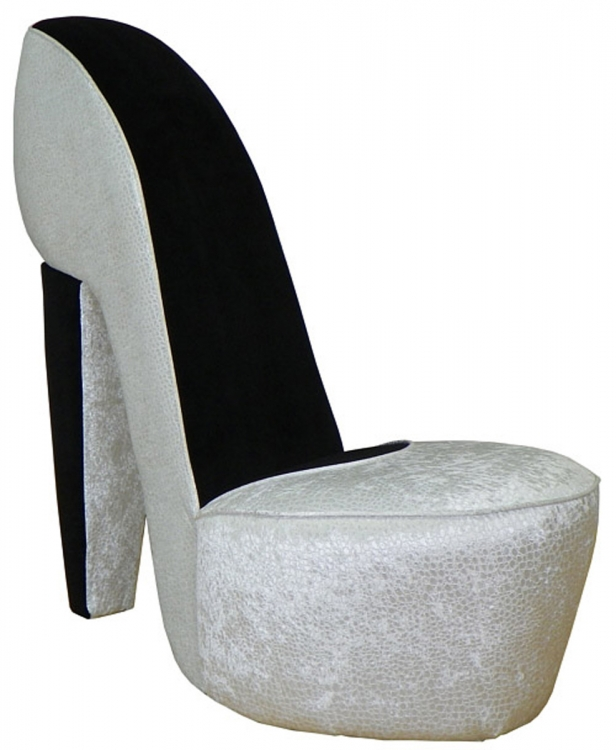Diva Shoe Chair - Excite Pearl