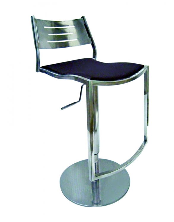 0511 Shiny Adjustable Height Swivel Stool