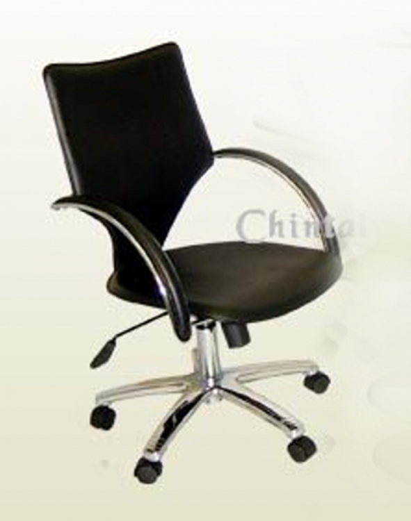Swivel Tilt Computer Arm Chair - Chintaly Imports
