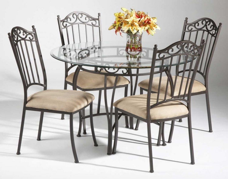 0710 Round Dining Collection - Chintaly Imports