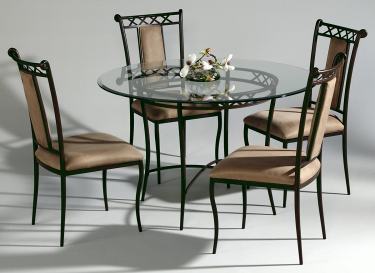 0724 Round Dining Collection - Chintaly Imports