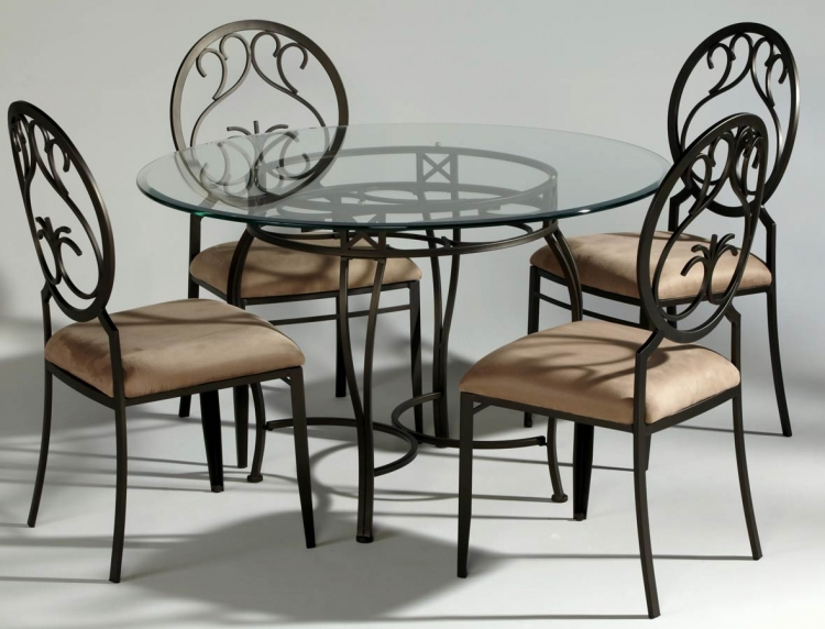 0745 Round Dining Collection - Chintaly Imports