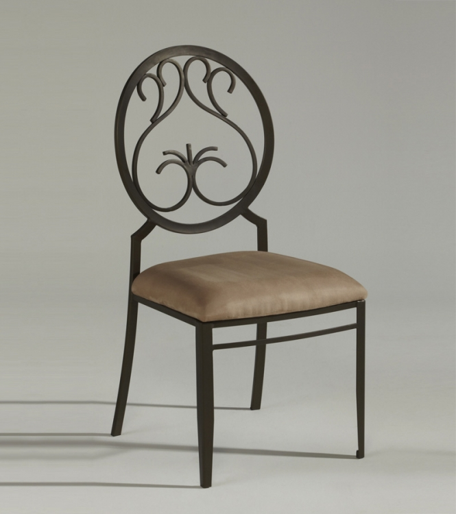 0745 Wrought Iron Side Chair