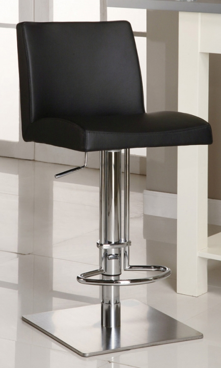 0814 Adjustable Height Swivel Stool - Chintaly Imports