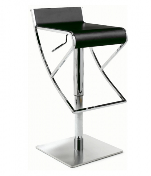 0815 Adjustable Height Swivel Stool