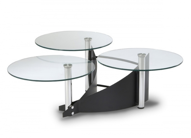 Three Tier Cocktail Table - Chintaly Imports