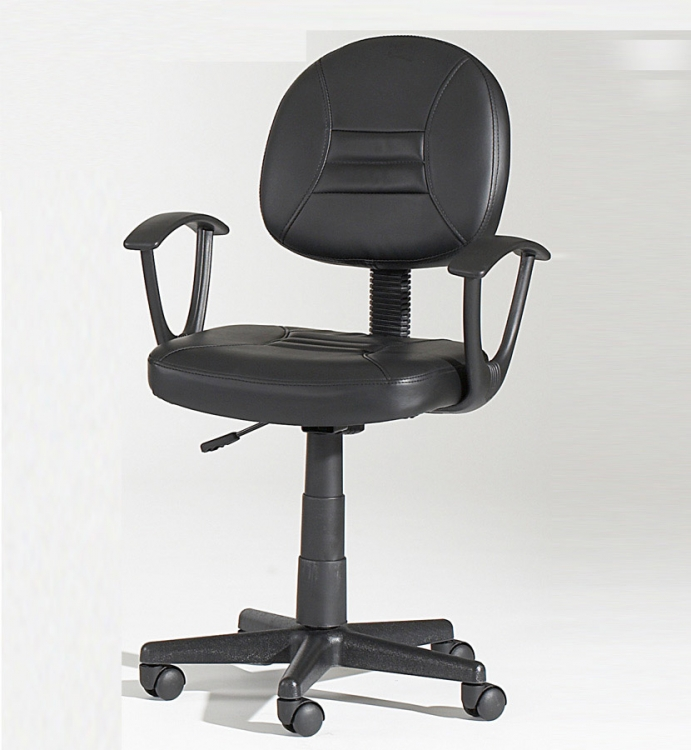 Swivel Hydraulic Office Chair - Chintaly Imports