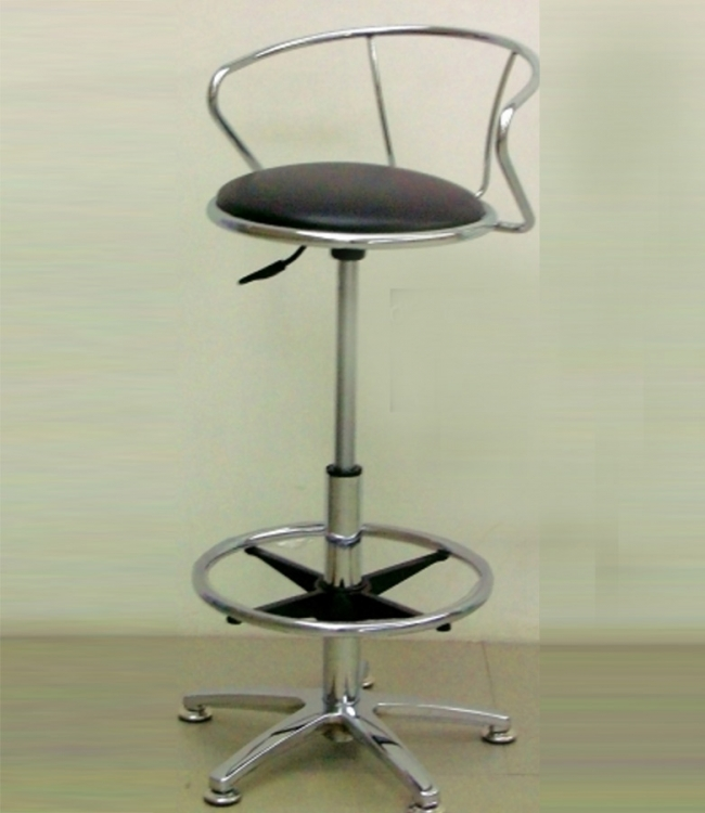 6306 Adjustable Height Swivel Stool - Chintaly Imports