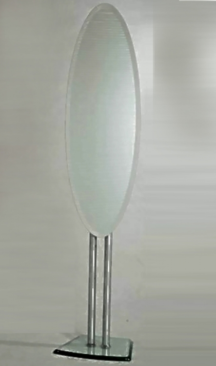 Oval Shaped Mirror Stand
