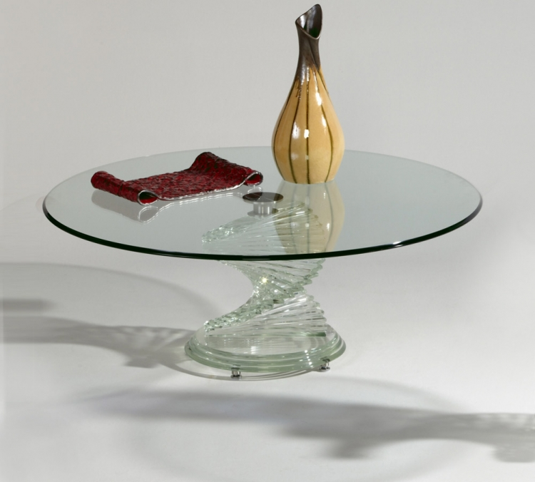 7201 Round Cocktail Table - Chintaly Imports