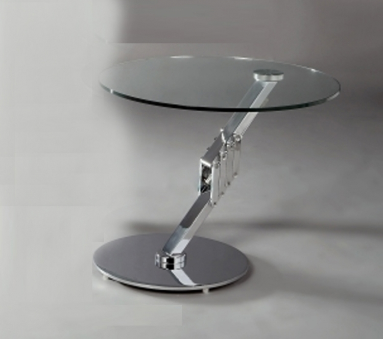 8078 Round Motion Lamp Table - Chintaly Imports