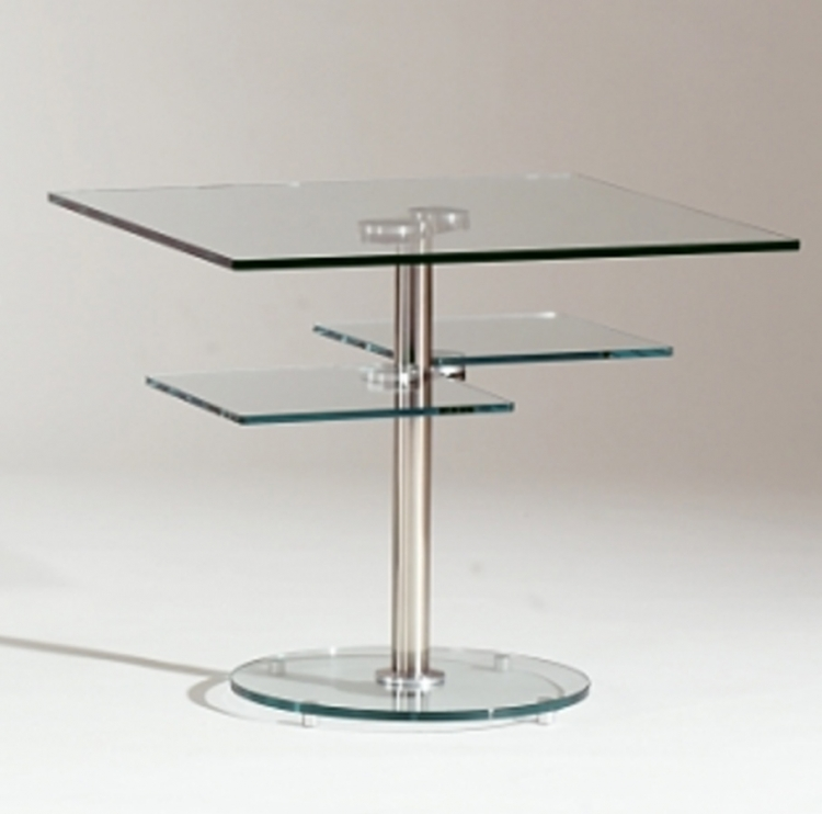 8130 Square Lamp Table - Chintaly Imports
