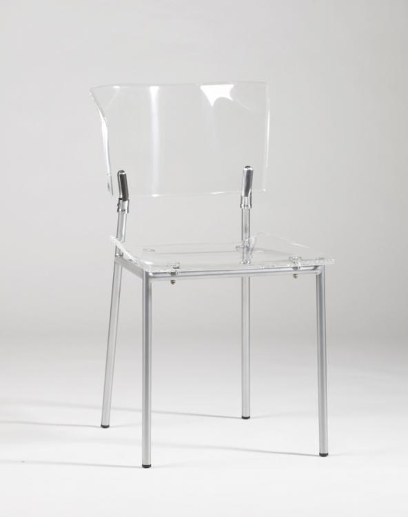 Acrylic Side Chair - Clear