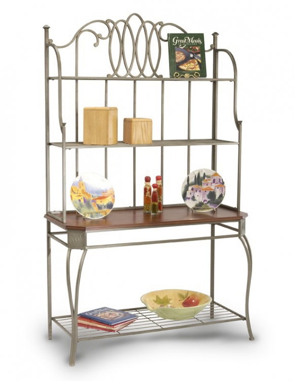 Albert Hand-Painted Bakers Rack
