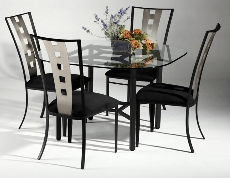 Alexis Round Dining Collection - Chintaly Imports