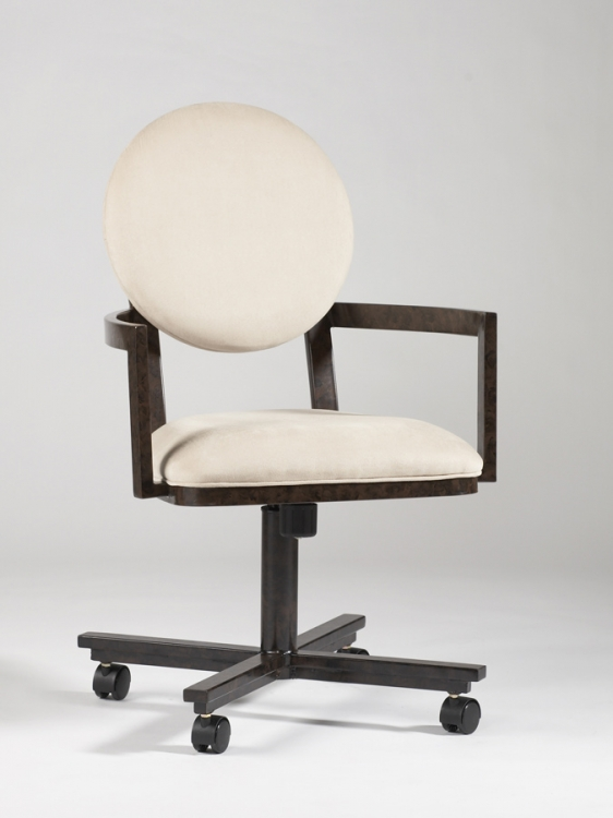 Amber Swivel Tilt Arm Chair