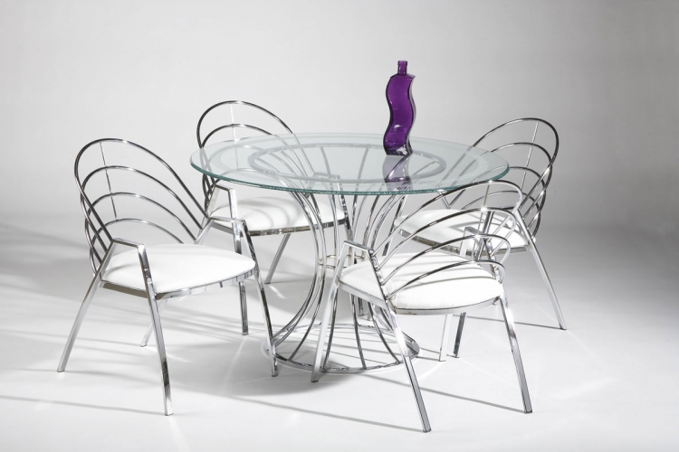 Anabel Round Dining Collection - Chintaly Imports