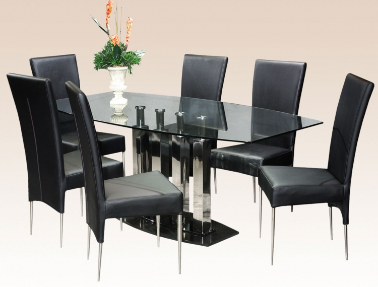 Cilla Dining Collection with Side Chair - Chintaly Imports
