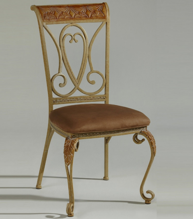 Eden Hand-Painted Side Chair