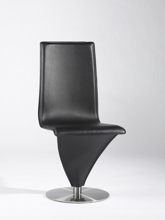 Eiffel Black Swivel Contemporary Chair