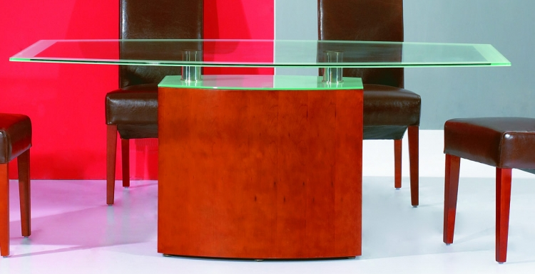 Helen Table with Glass Top