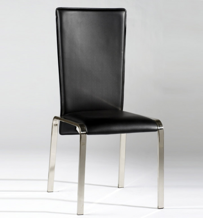 Isabella Nickel Side Chair