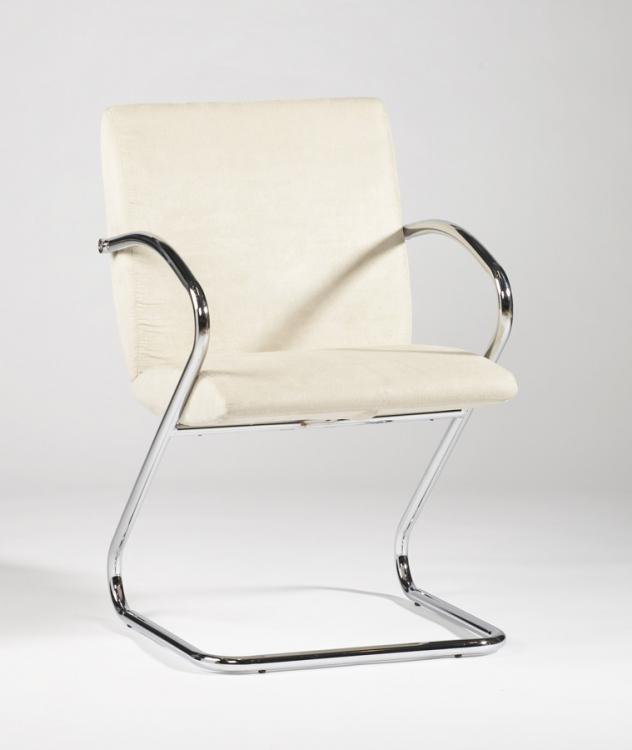 Jasmine Beige Upholstered Back Arm Chair
