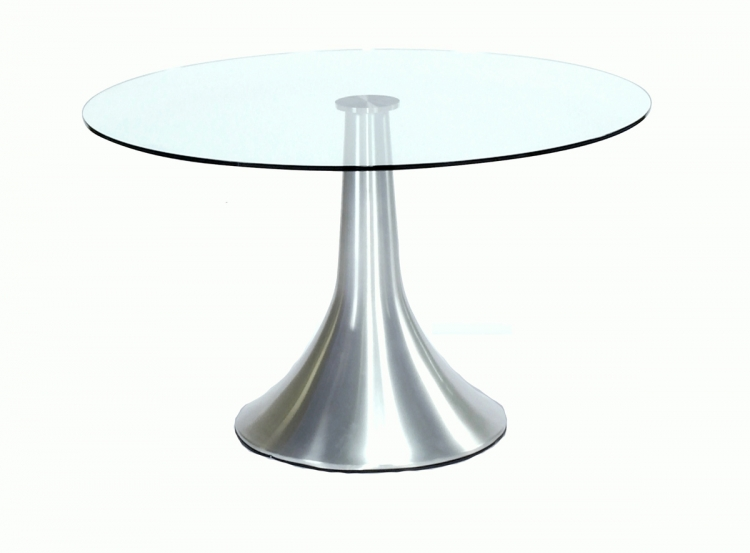 Jasmine Round Table with Glass Top