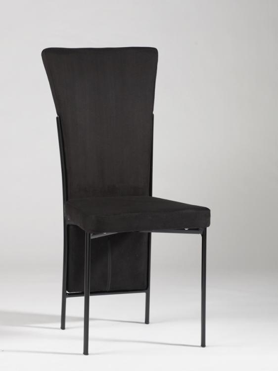 Jennifer Black Upholstered Back Side Chair