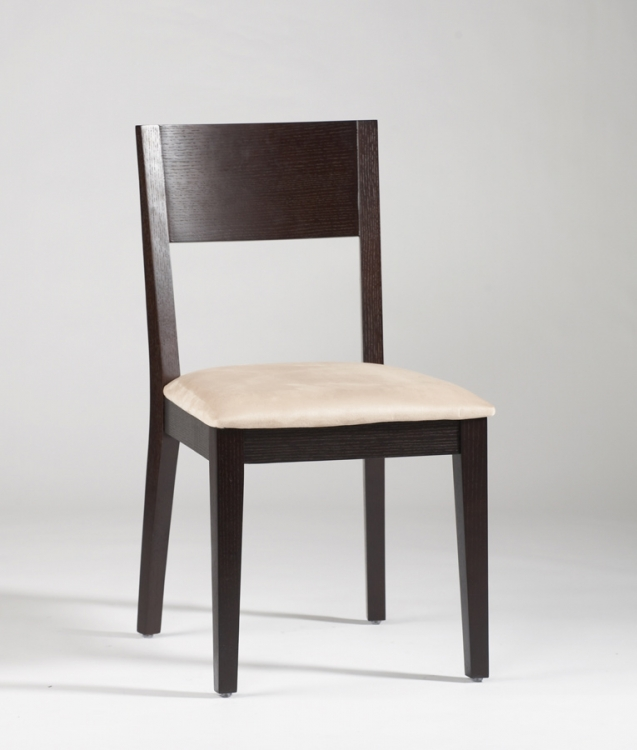 Leslie Solid Wood Side Chair