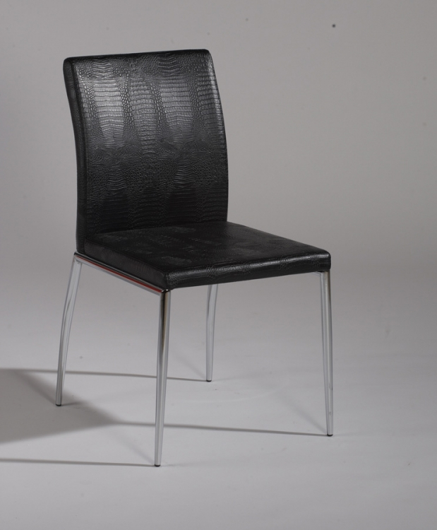 Megan Upholstered Back Side Chair