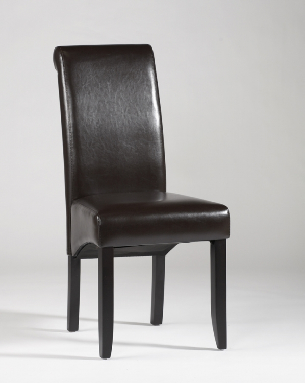 Rolled Back Parson Chair - Chintaly Imports