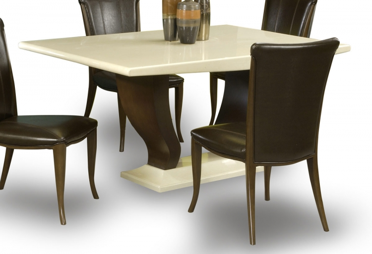 Sonja Dining Table with Marble Top