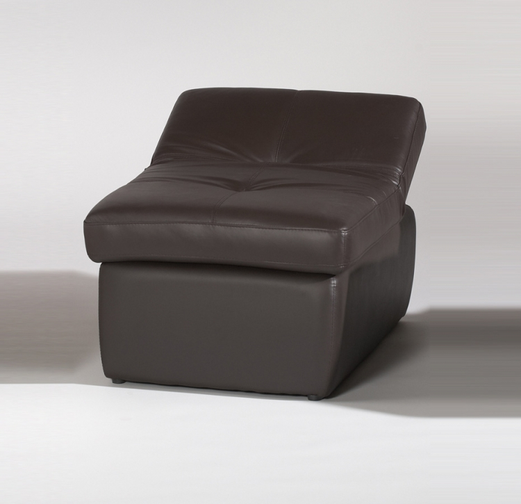 Sonoma Cocktail Ottoman Adjusts to Occasional Chair - Brown - Chintaly Imports