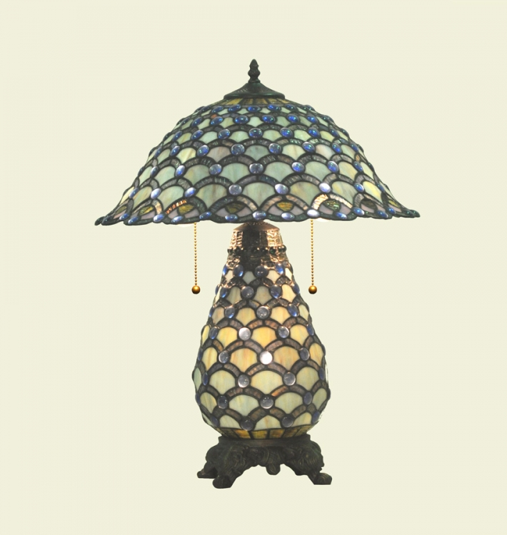 01383 Tiffany Table Lamp - Chintaly Imports