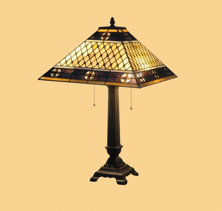 04205 Mission Table Lamp - Chintaly Imports