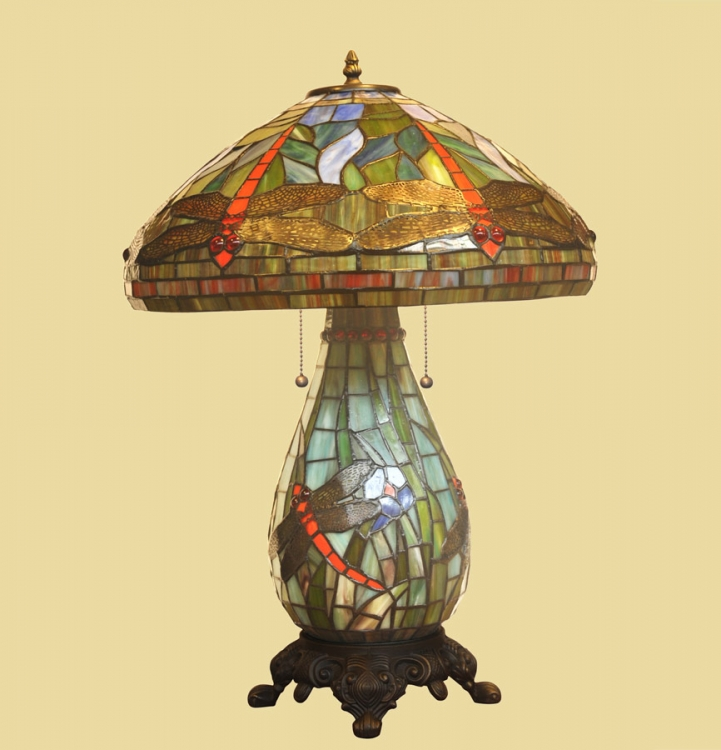 06261 Tiffany Table Lamp - Chintaly Imports