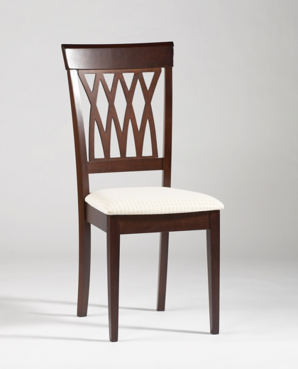 Troy Solid Wood Side Chair