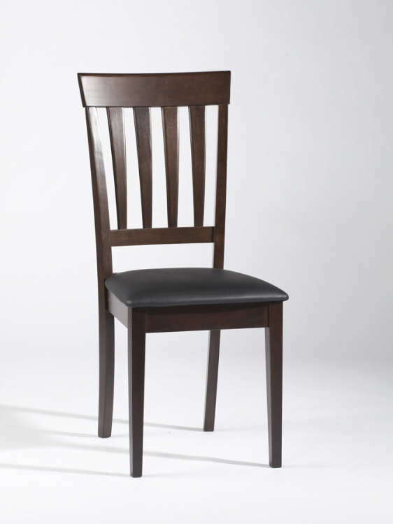 Tyler Solid Wood Tapered Slat Back Side Chair