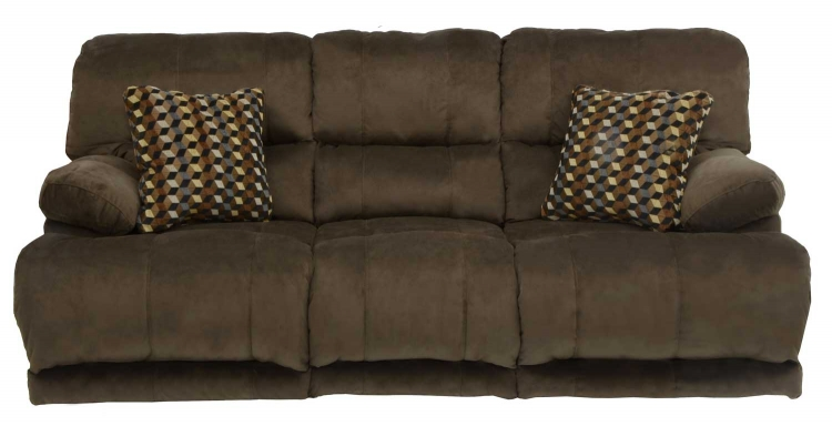 Catnapper Riley Reclining Console Loveseat Charcoal Cn
