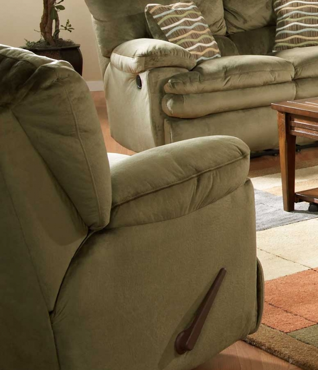 Easton Rocker Recliner - Sage - Catnapper