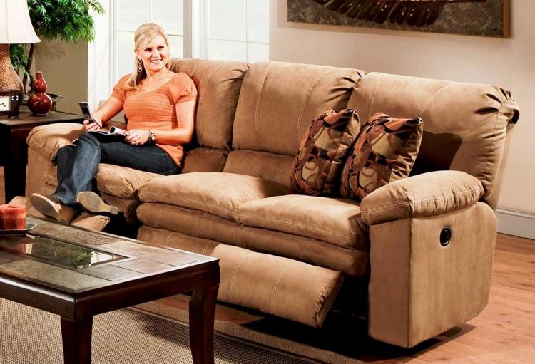 Impulse Reclining Sofa - Cafe