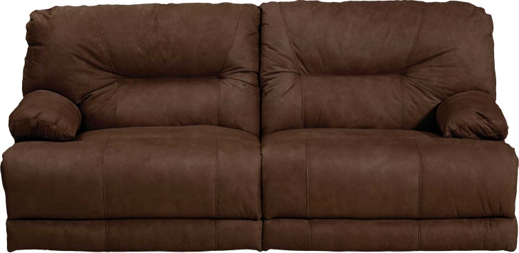 Noble Lay Flat Reclining Sofa - Espresso