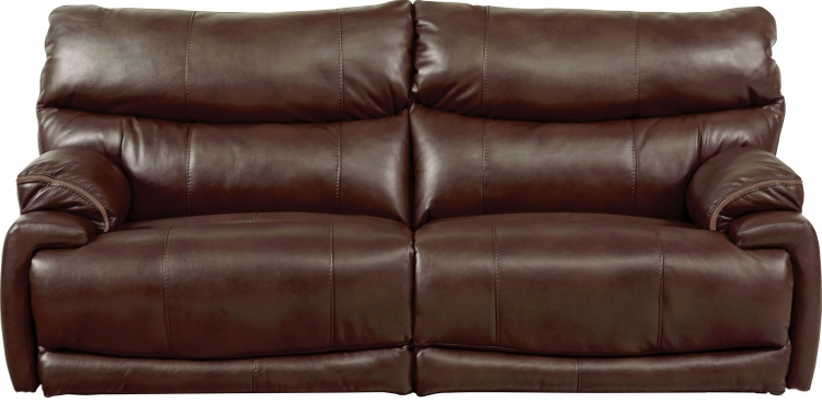 Larkin Lay Flat Reclining Sofa - Coffee