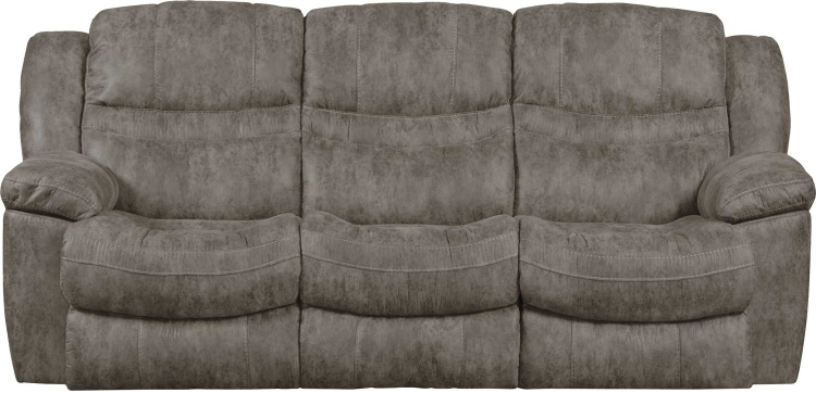 Valiant Reclining Sofa with 3 Recliners and Drop Down Table - Marble